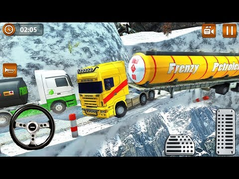 Offroad Oil Tanker Truck Transport Driver (by Frenzy Games Studio) Android Gameplay [HD]