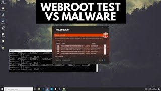 Webroot vs Malware   Test