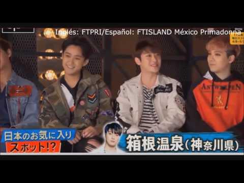 (SUB ESPAÑOL) FTISLAND en Abema TV Japón 2017 (1/3)