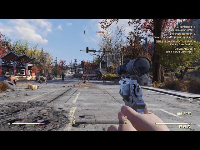 Fallout 76 PC bugplay - The T-Posse