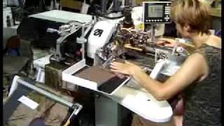 видео: Машина DUERKOPP ADLER 745-34-B.