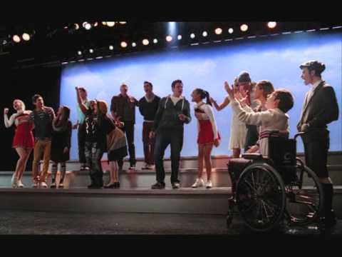 Glee Cast- We Are Young Lyrics (Lyrics in Description)