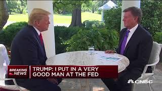 Trump I don39;t necessarily agree with raising rates  Squawk Box Europe