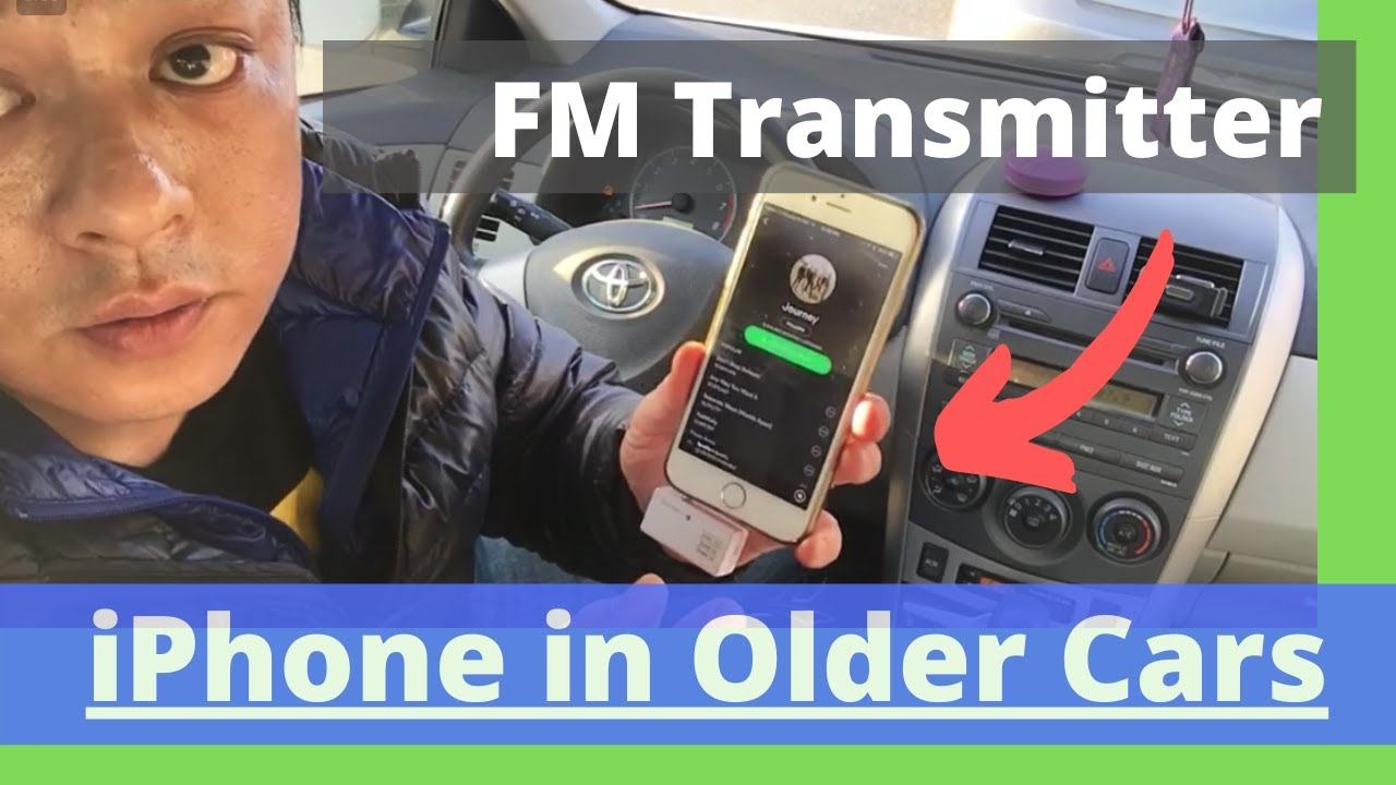 new arrival 95fc6 60a48 How to use fm transmitter for iPhone 6 in Older Car Radio