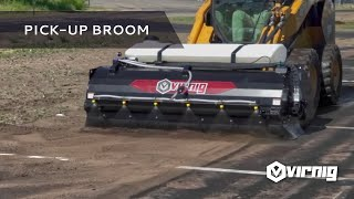 Video still for Pick-Up Broom with Optional Low Profile Water Tank