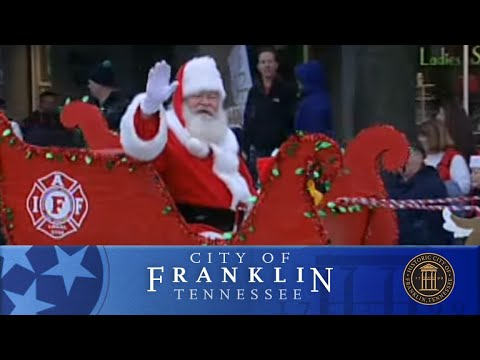 2014 City of Franklin, TN Christmas Parade
