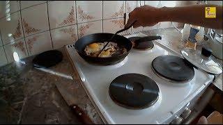 Рецепт приготовления яичницы
