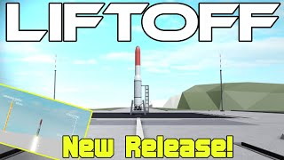The New Rocket Tester | Roblox Liftoff New Game Release!