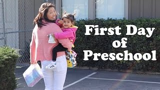 Nara's First Day of Preschool | The Mongolian Family