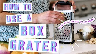 These Box Grater Tİps Might Surprise You | How to Get the Most of Your Box Grater | MyRecipes