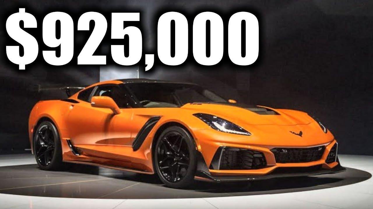 2019 Corvette ZR1 Sold $925,000 | Barrett Jackson Collector Auto ...