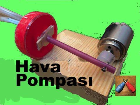Akvaryum Hava Pompası Nasıl Yapılır , Ev Yapımı Akvaryum Motoru