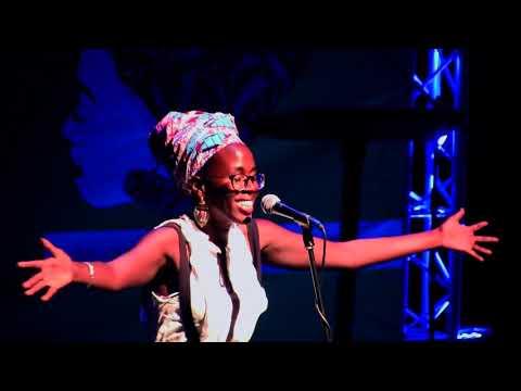"kaloune au festival international ""poetry africa"" à Durban - oct 2017"