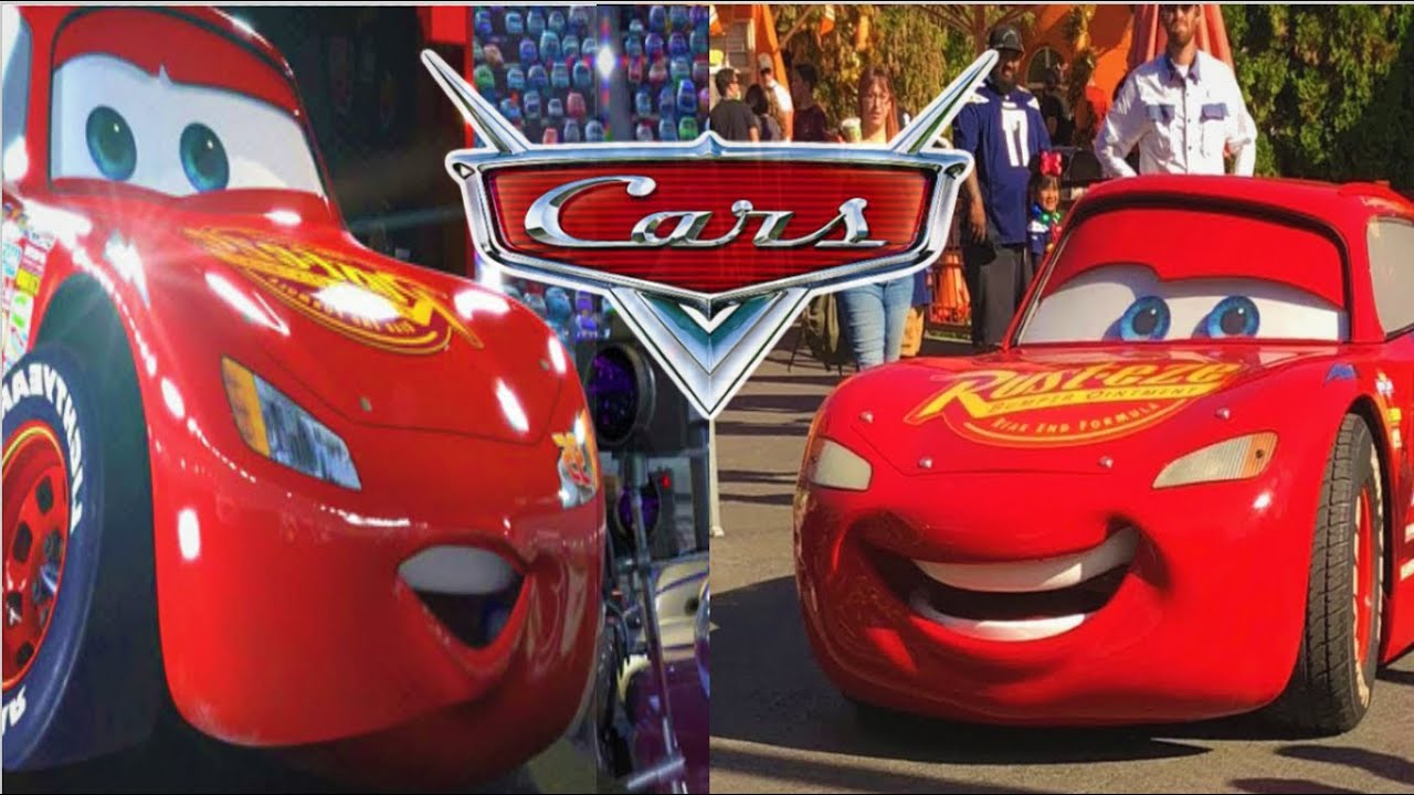 Disney Cars In Real Life