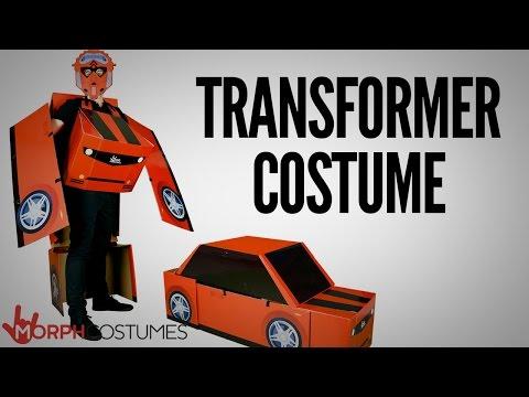 Transformer Costume - Real Transforming Robot Costume