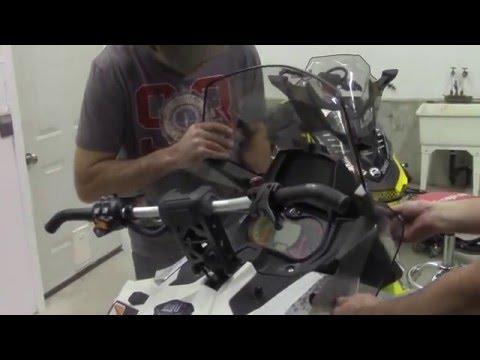 Ski Doo Glove Box Extension Install on the Raw Fuel TV MXZ