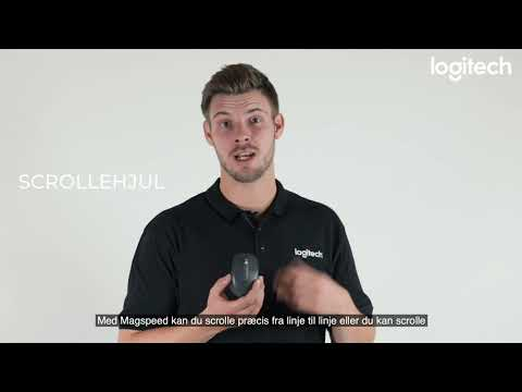 Logitech MX Anywhere 3 training video - Danish