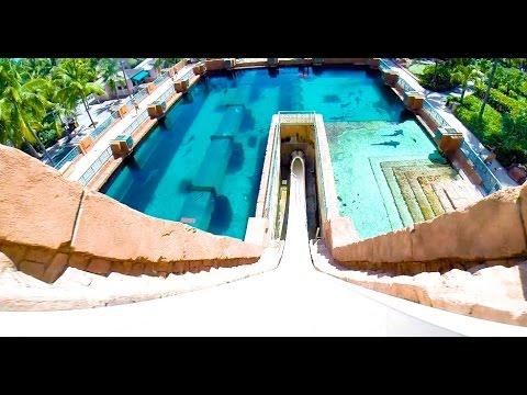 Leap of Faith : Water Slide - Atlantis (Paradise Island, Bahamas)