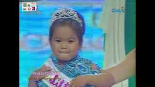 Eat Bulaga Little Miss Philippines 2012 - Ryzza Mae Dizon
