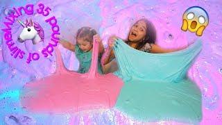 1 GALLON OF  FLUFFY SLIME VS 1 GALLON OF FLUFFY SLIME| How to make fluffy slime