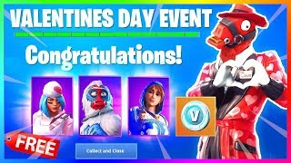 SKINS GRATUIT À UNLOCK FOR VALENTINE'S DAY EVENT (fr) FORTNITE (FORTNITE)