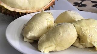 How to open a Durian by Chef Sam