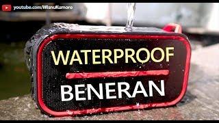Beneran Waterproof! Eggel Active Plus Waterproof Bluetooth Speaker!