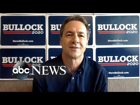 One-on-one with 2020 Democratic presidential candidate Steve Bullock