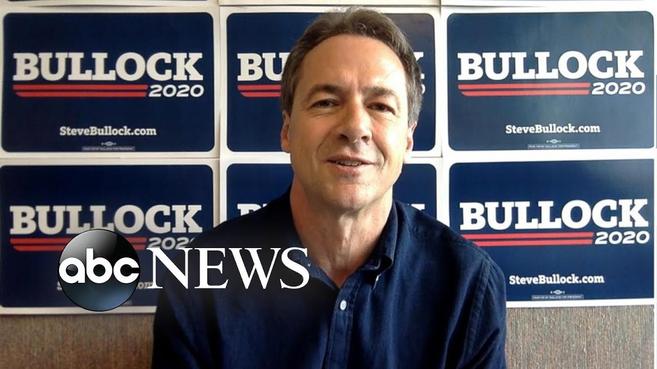 ABC News:One-on-one with 2020 Democratic presidential candidate Steve Bullock