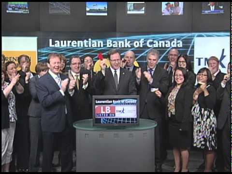 Laurentian Bank Of Canada (LB:TSX) Opens Toronto Stock Exchange, June 29, 2011.