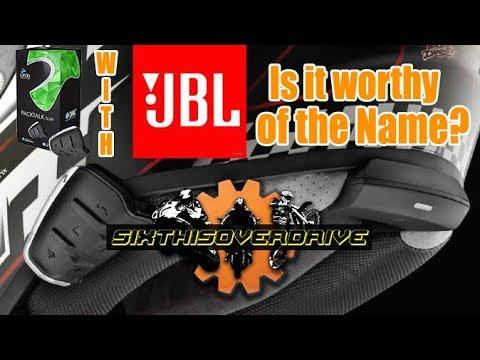 Cardo PackTalk Slim With JBL.  Audio Review