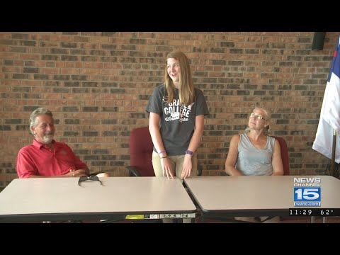 Concordia's Carmen Trier signs with Grace College track