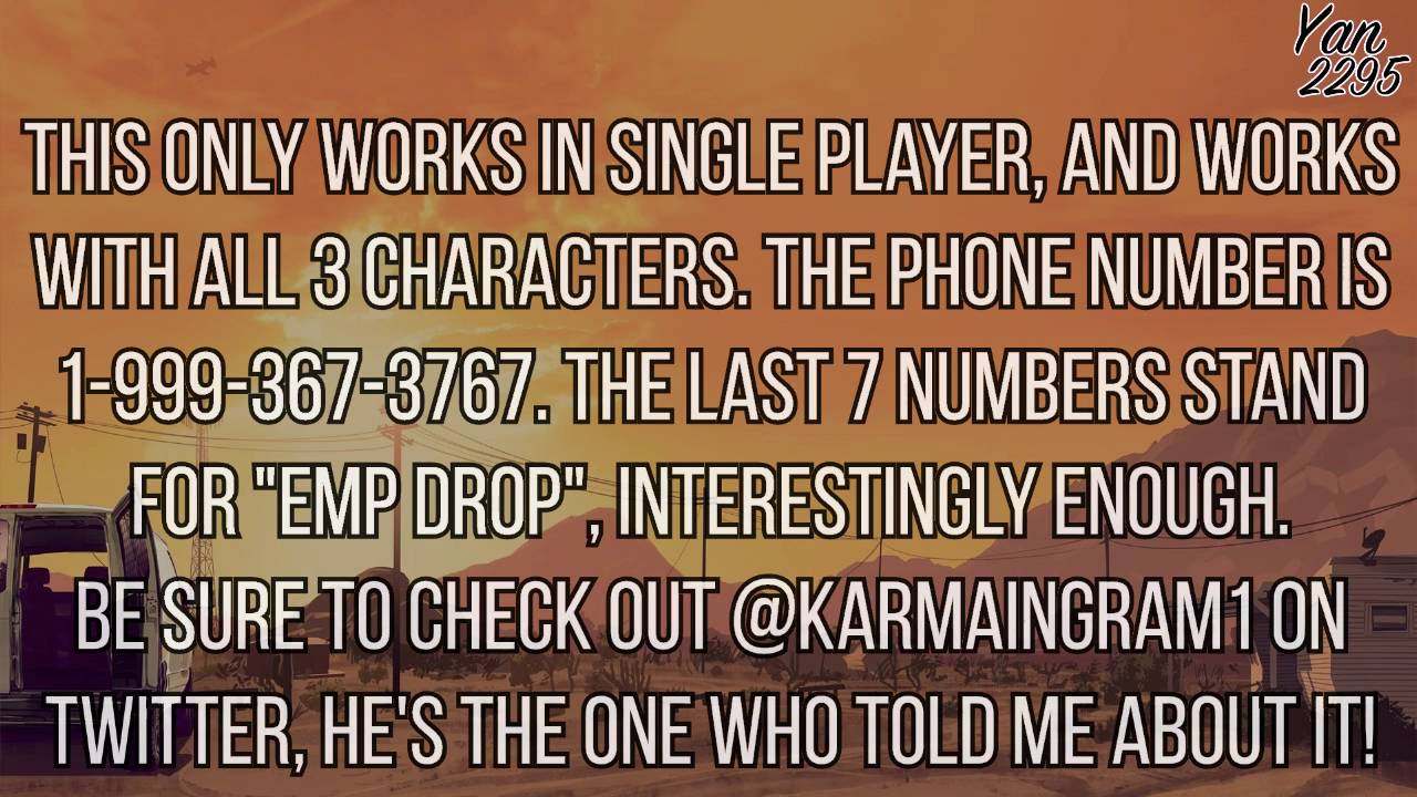 Dial this secret GTA 5 phone number for inexplicable