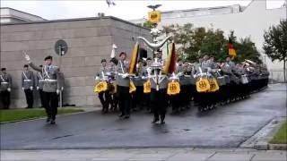 Militärische Ehren - Rumänischer Verteidigungsminister - Ehrenkompanie