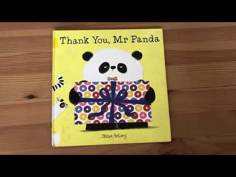 Thank You, Mr. Panda By Steve Antony - Story Time With Ms. Emily