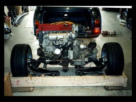 Mini Type R powered Midengine layout