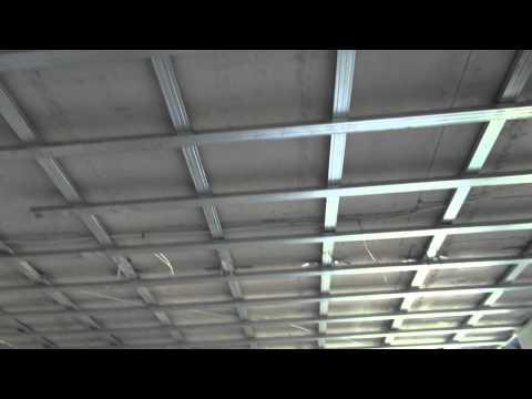 видео: Подвесной потолок из КНАУФ листов П 112 Инвестиционная недвижимость в Латвии клип-3