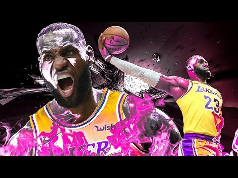 LeBron James - Best Dunks as a Laker - 2019 Highlights