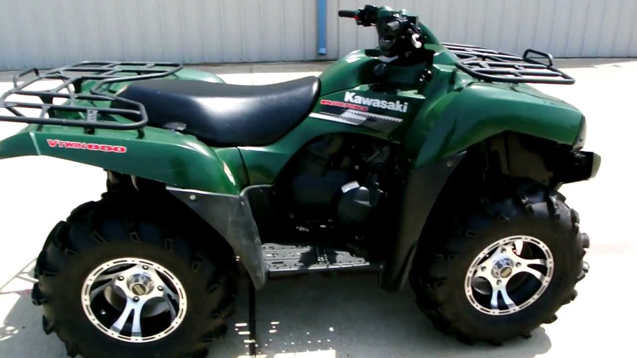 2007 Kawasaki Brute Force 650 4x4 Overview And Review Youtube