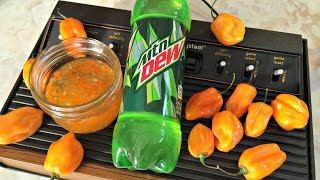 Gamer Eats - Mountain Dew Pepper Jam