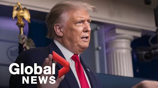 "Coronavirus: Trump claims vaccine may be available ""far in advance of the end of the year"" 