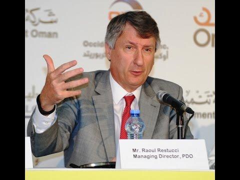 Raoul Restucci, MD, Petroleum Development Oman