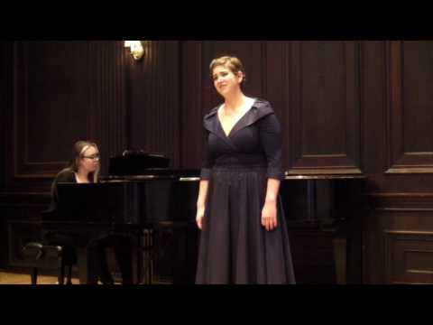 """""""Lullaby"""" from The Consul, by Gian Carlo Menotti"""