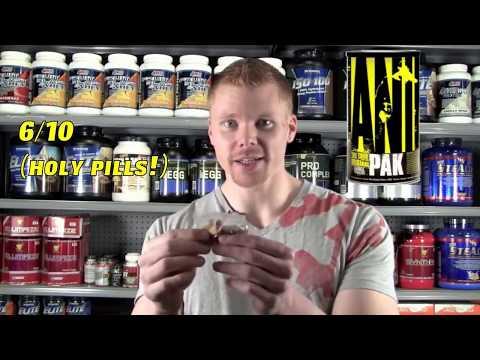 Обзор Animal Pak — витамины от Universal Nutrition