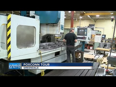 Wisconsin companies hope to jump on Foxconn bandwagon