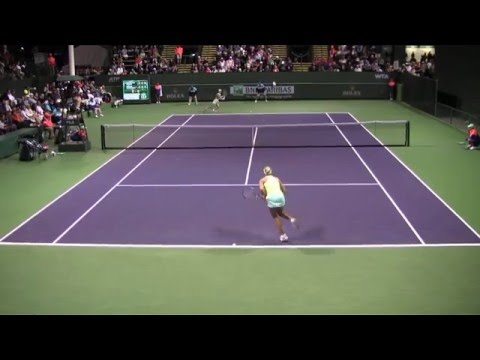[26] Samantha Stosur vs. Yanina Wickmayer - 2016 BNP Paribas Open