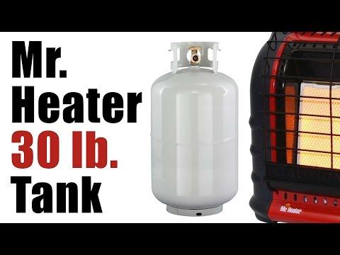 Mr. Heater Big Buddy - 30 lb Propane Tank