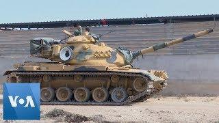 Turkey Deploys Tanks to Syrian Border