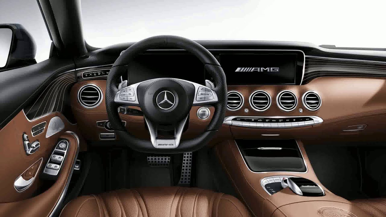 Mercedes benz s 65 amg coupe 2015 model youtube for Mercedes s interieur