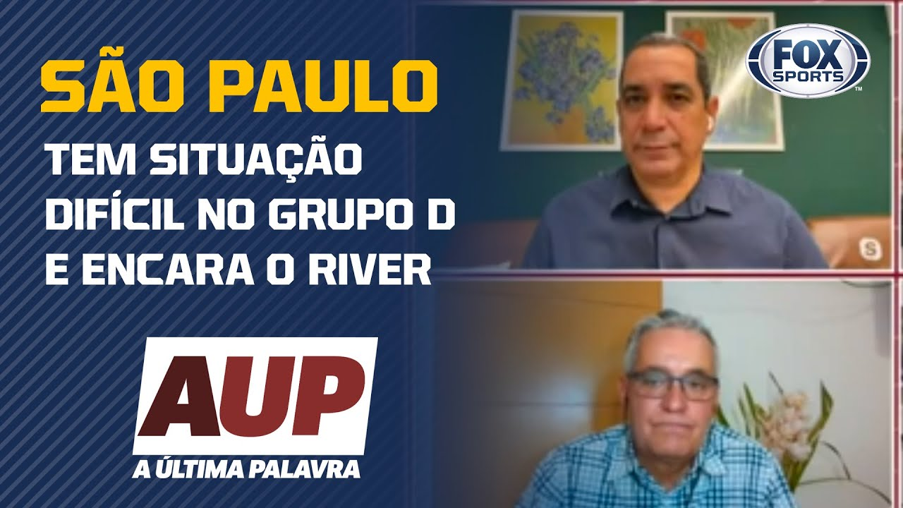 SÃO PAULO AINDA TEM CHANCES DE SE CLASSIFICAR NA LIBERTADORES?; Veja o debate no A Última Palavra